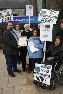 Campaigners have been fighting to save the Balfour Centre