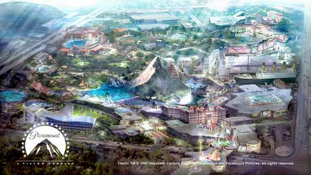 A Paramount theme park is planned for South Korea - similar to one earmarked for north Kent.