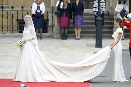 Pippa Middleton was sister Kate Middleton's bridesmaid at her wedding to Prince William in April 2011. Picture, Mark Cuthbert, Press Association
