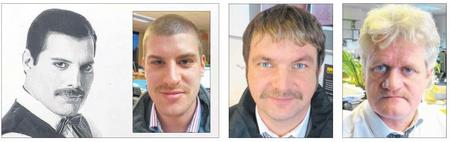 Kentish Express Movember Team 2012