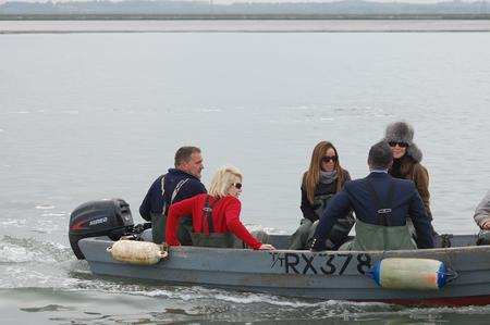 US comic Joan Rivers was nearly arrested on a fishing trip
