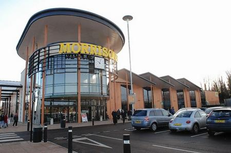 The new Morrisons store in in Mill Way Sittingbourne