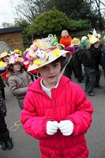 Easter bonnet parade at Murston Infant School, Church Road, Murston