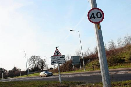 New speed limit has been set up on Bobbing road after series of accidents