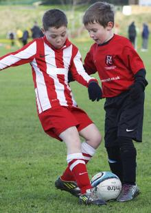 Thamesview Youth Rangers under-8s v Strood United Red under-8s