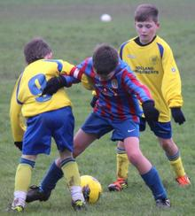 Woodpecker HI under-11s v Sheerness East Youth under-11s