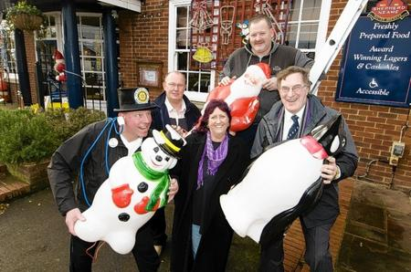 The Aviator pub, Queenborough Corner. Minster-on-Sea Rotary Club is preparing for the switch on of the Christmas lights at the Aviator on Saturday December 8.