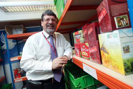 Chris Norman is taking on the role of interim family food bank co-ordinator in Sheerness