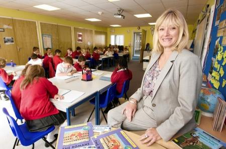 New principal Annie Donaldson at Richmond Primary School, Sheerness