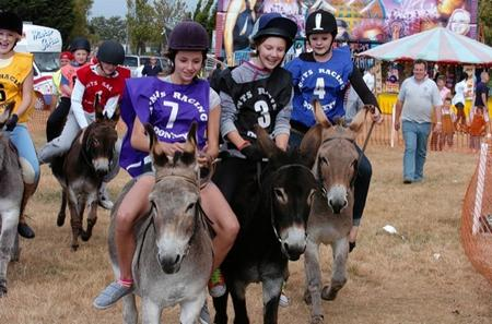 Sheppey's Annual Donkey Derby at Sheppey Court Marshes