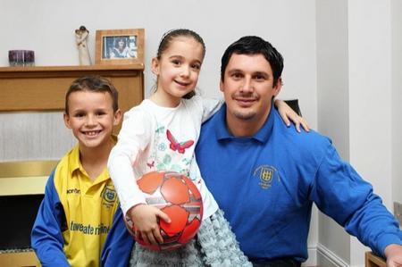 Jack, Ella and Ross Elderfield