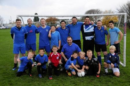 Charity 7 A Side football in aid of the Haemophilia Society