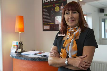 Salon owner Lisa Pond had a cash box stolen