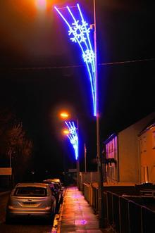 Christmas lights in Eastern Sheppey