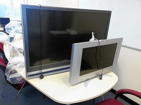 Stolen TVs