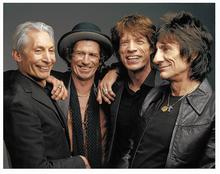 The Rolling Stones. Picture: Rebecca Gibbs