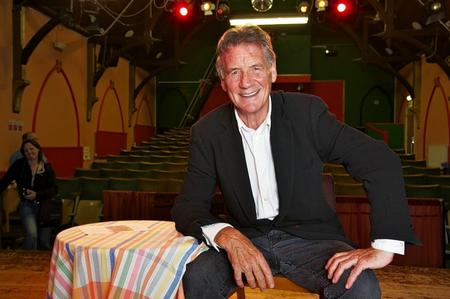 TV presenter and Monty Python legend Michael Palin will sign copies of his latest book, Brazil