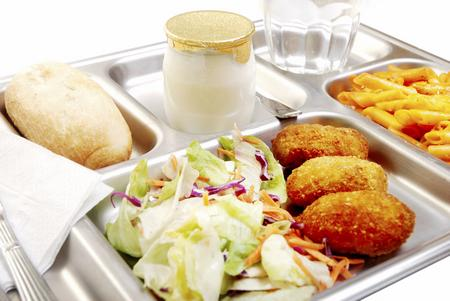 School lunch tray (file picture)