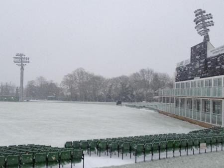 Kent's St Lawrence cricket ground in Canterbury in December 2012.