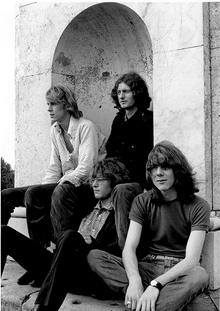 Soft Machine in 1968. Kevin Ayres is on the left.