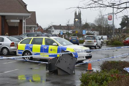 A cash machine stolen from Tesco in Tenterden was dumped in the car park