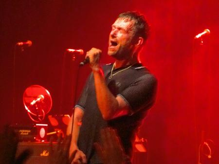 Blur play their first gig in three years at Margate Winter Garden. Picture: Chris Price