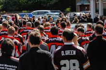 Alan Newcombe funeral