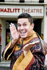 Jeremy Edwards stars as Aladdin at Maidstone's Hazlitt Theatre