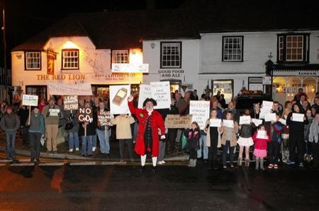 Lenham protest