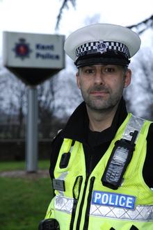 Inspector Martin Stevens, from the Kent Police Serious Collision Investigation Unit