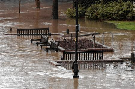 Flooding in Maidstone, November 30, 2009