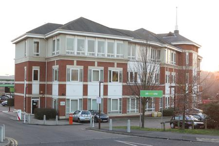 The Job Centre Plus building in Staceys Street, Maidstone