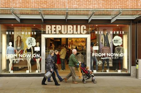 Republic store in Maidstone's Fremlin Walk