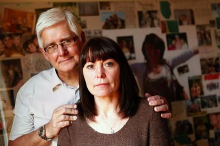Beverly and Trevor Porter, whose daughter Charlotte died of deep vein thrombosis in 2010, are campaigning after their daughter's tribute page was attacked by a troll