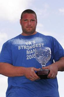 Terry Hollands, the ex-UK's strongest man.