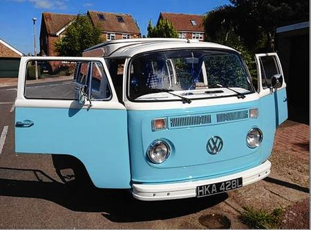 VW camper van stolen in Faversham