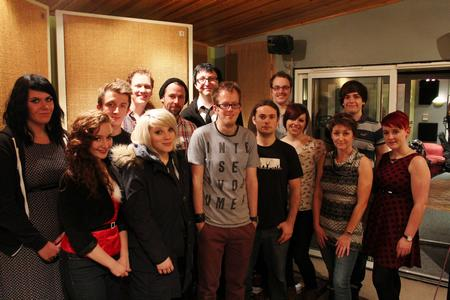 Musicians from across Kent have come together to record a charity version of Do They Know It's Christmas.