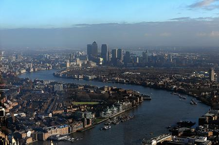 Views of London from the Observation Tower, the Shard