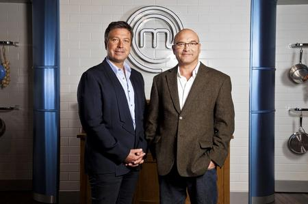 Masterchef presenters John Torode, left, and Gregg Wallace. Picture: PA Photo/BBC/Shine TV.