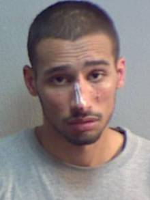 Alex Gunn, 25, of no fixed address, has been jailed for six years and three months for one burglary in Sturry, near Canterbury.