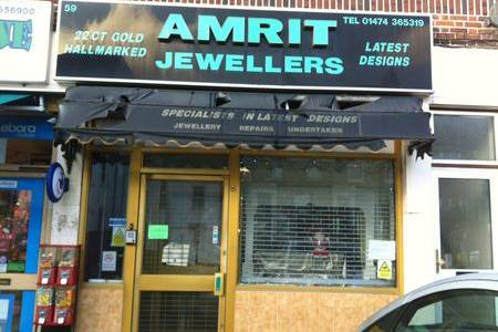 Amrit Jewellers in Wrotham Road, Gravesend