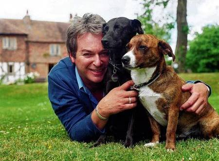 Julian Clary at his Kent home