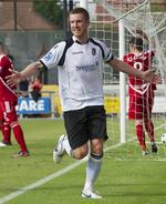 Dartford captain Elliot Bradbrook celebrates