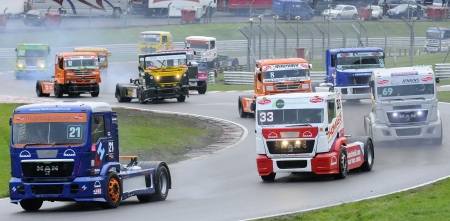 Matt Summerfield 2012 British Truck Racing champion