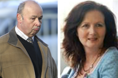 Brian Fraser of Shadoxhurst Ashford is accused of attempting to murder show jumper Louise Leggatt