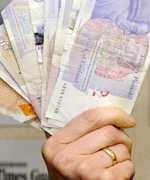Kent charities are receiving less money