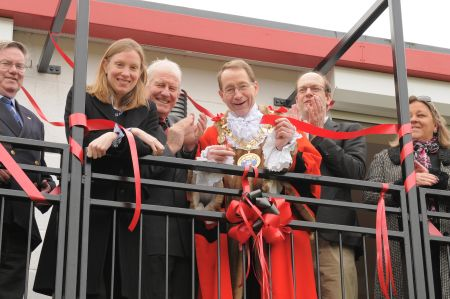 Chatham Town open their new clubhouse