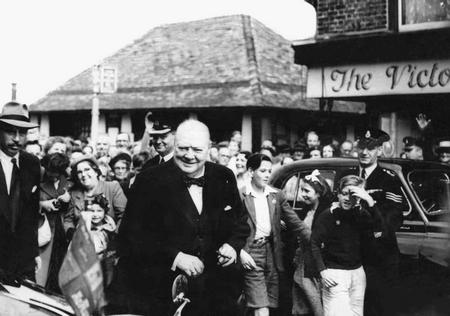 Winston Churchill in Kent