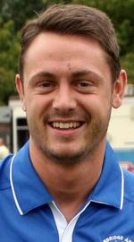 Tonbridge Angels striker Frannie Collin.