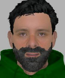 Efit of a man being hunted after a girl was flashed in Staplehurst